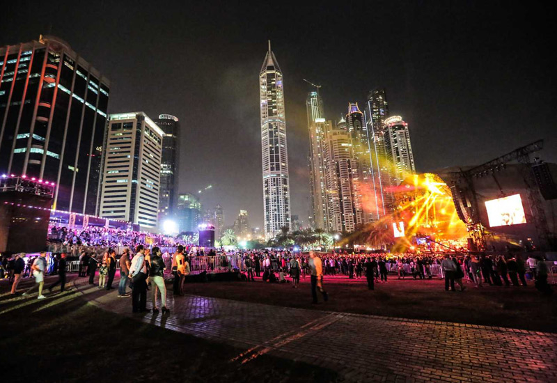 Dubai Media City Amphitheatre is one of the most popular venues for live music events in the city.