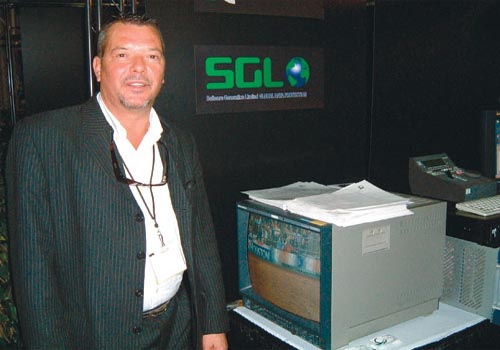 Bernie Walsh, director of sales for SGL.