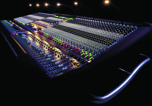 DWTC has invested in a range of equipment including a Midas Heritage 3000 console.