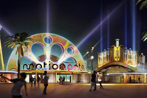 Featuring DreamWorks Animation franchises, the zone will include 12 engaging attractions.