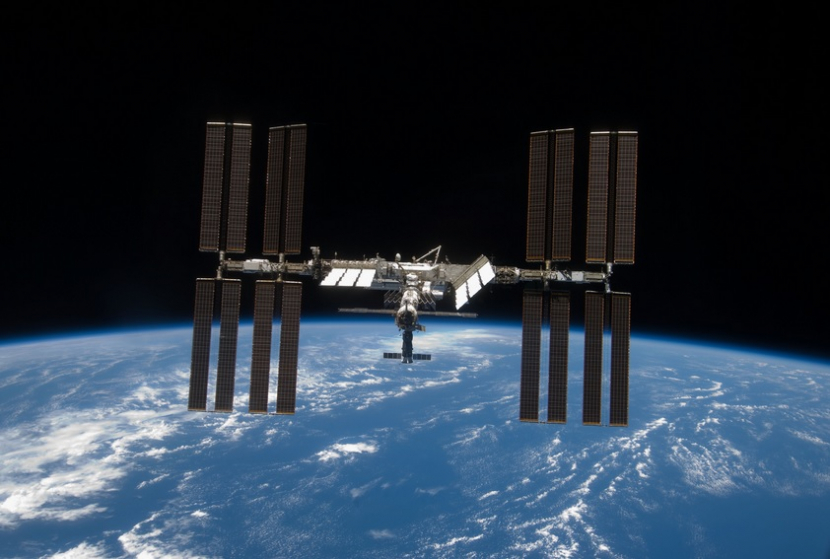 The INternational Space Station (Photo: NASA).