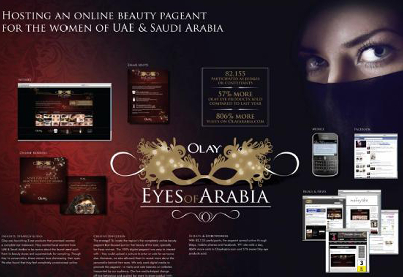 Olay's 'Eyes of Arabia' campaign was among SMG's successes.