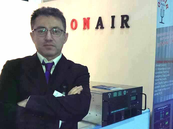 Lutfi Aysan, GM of OnAir Medya.