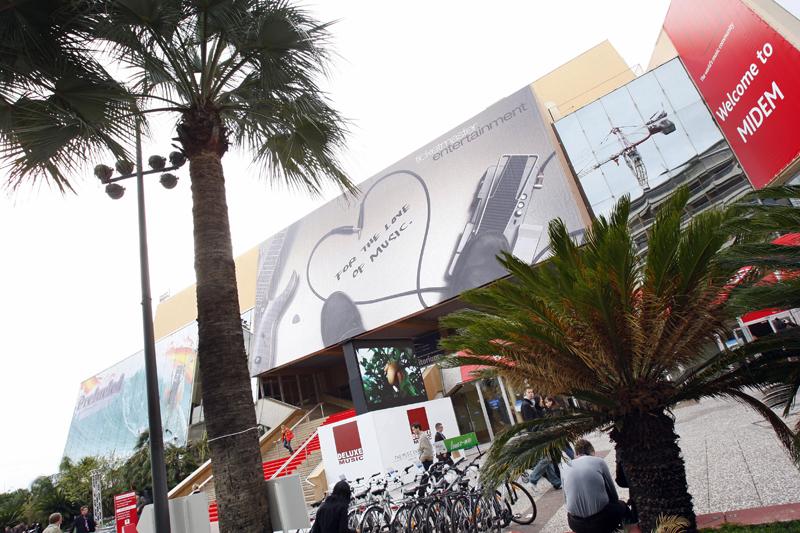 Cannes' Palais des Festivals will host MIDEM 2010.