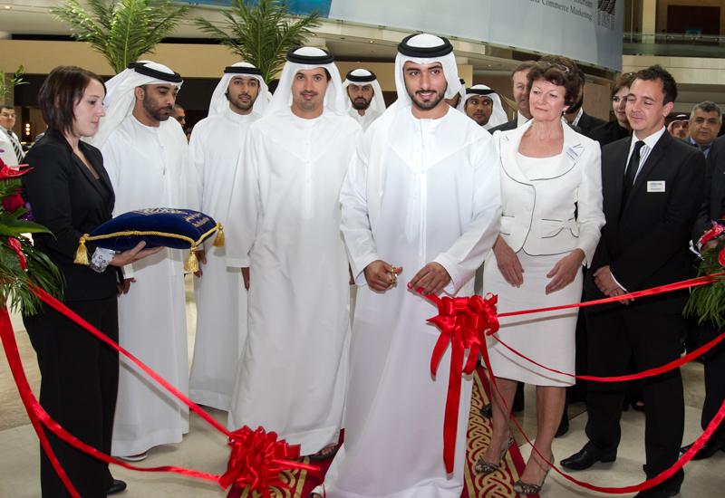His Highness Sheikh Majid bin Mohammed bin Rashid Al Maktoum opens PALME Middle East 2012.