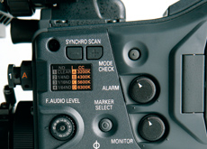 The new Panasonic AJ-HPX 3000 supports AVC-Intra 10-bit image acquisition.
