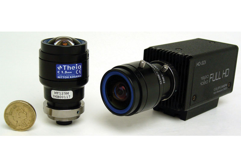 Polecam will exhibit Theia's MY125M ultra-wide-angle effects lens at IBC.
