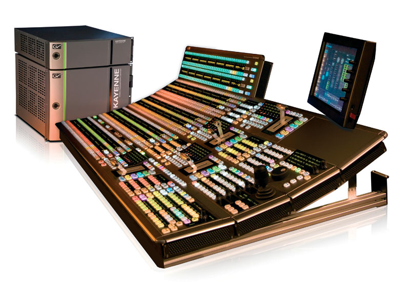 The latest production switchers have 1000 effects memory (E-MEM) registers.
