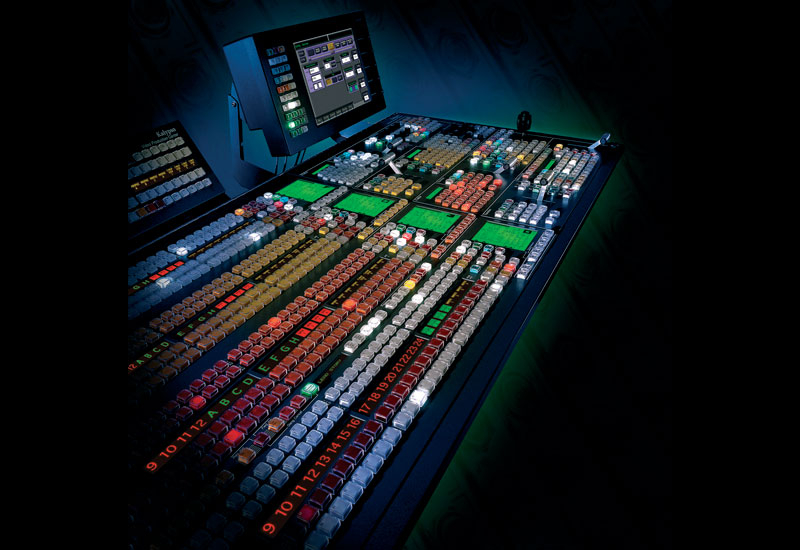Kalypso was amongst the first switchers to incorporate digital video effects.