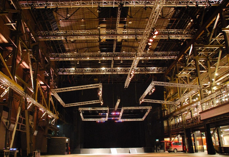 Prolyte specialises in trussing and rigging technologies.