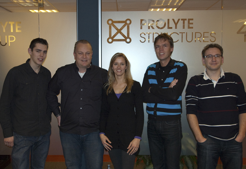 At your service: Prolyte's customer service team.