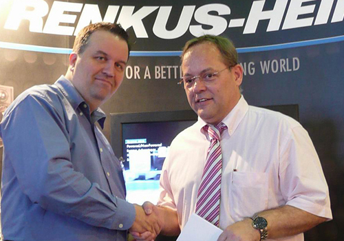 Renkus-Heinz and Mediatronics ME join forces.