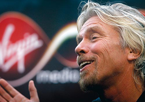 Virgin chairman Sir Richard Branson is keen to expand the brand's presence in the Middle East.