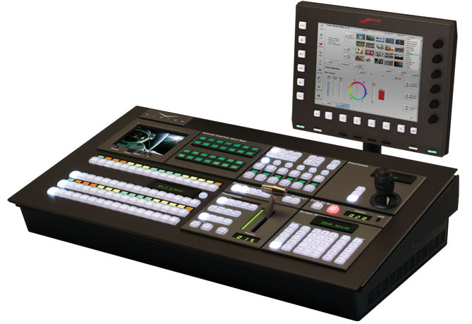Ross's range of switchers, servers and CGs is complemented by Codan's routers and audio monitors.