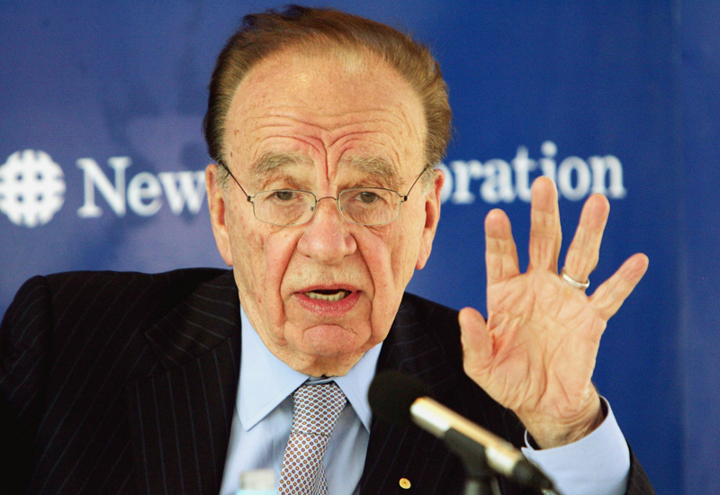 Rupert Murdoch, CEO and president, News Corp.