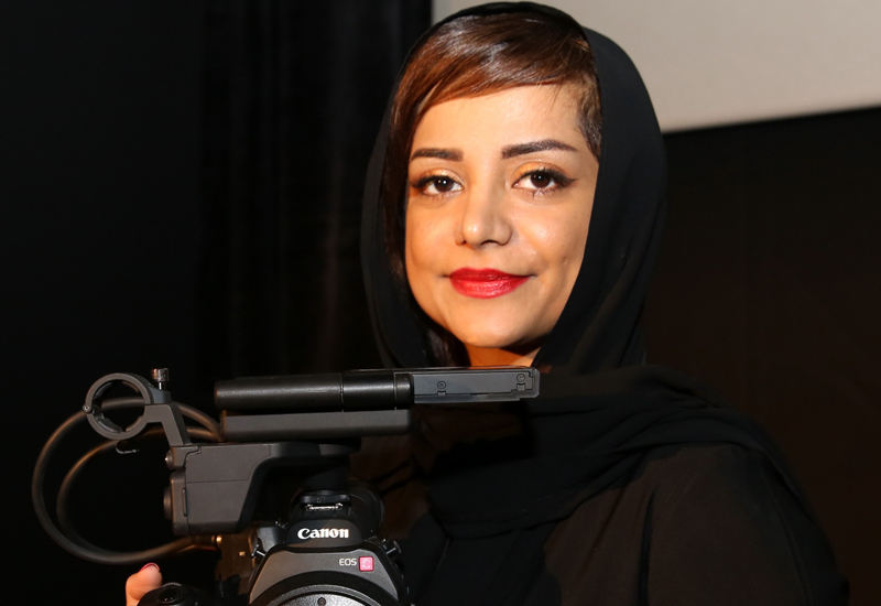 Nayla Al Khaja gets to grips with the C300.
