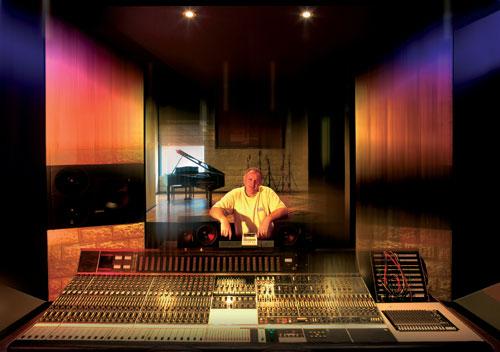 Misner pictured at Studios 301 in 2006.