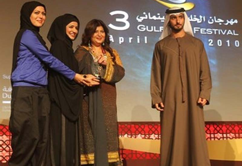 Sanya Kirpalani won the first prize for her documentary on young fashion designers in Dubai.