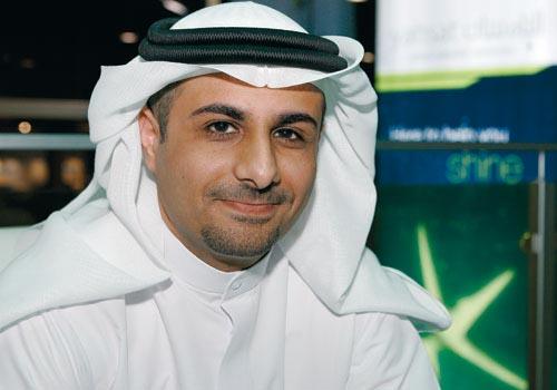 Yahsat CEO Jassem Mohamed Al Zaabi announces company launch.
