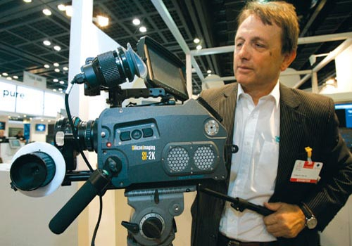 Advanced Media Trading demonstrates new camera from Silicon Imaging.