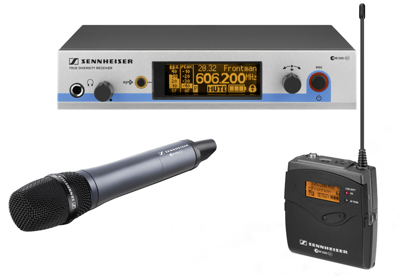 New Sennheiser equipment will be compatible with Channel 38 adn other 'future proofed' frequencies.