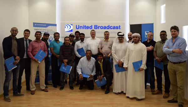 Sennheiser and UBMS 'Broadcast Sound Perfected' event in Dubai.