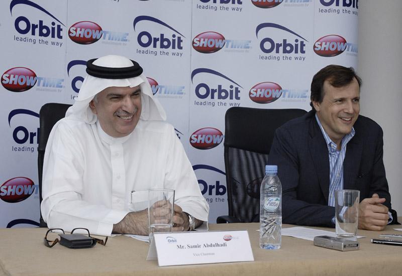 Samir Abdhulhadi, vice chairman and Marc Antoine d'halluin of NewCo, the nickname for the newly merged company.