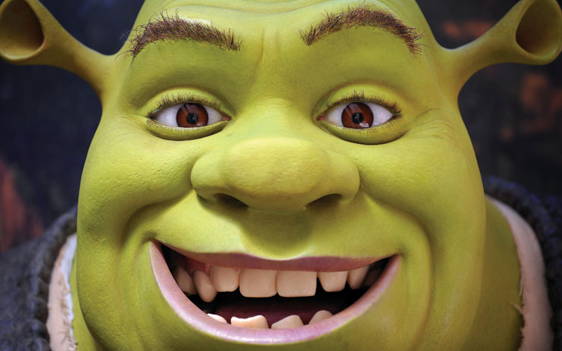 Shrek is the first international release in Technicolor 3D (Gabriel Bouys/AFP/Getty Images).