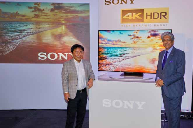 4K HDR, Middle East, Sony introduces 4K HDR, Sony TV, Latest Products