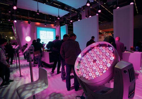 Prolight+Sound showcased the latest developments in LED technology.