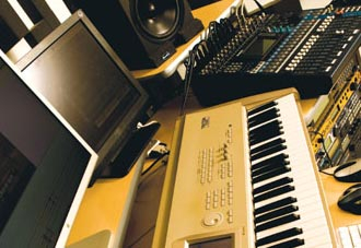 Music HF uses a range of hardware and software to create classical compositions.