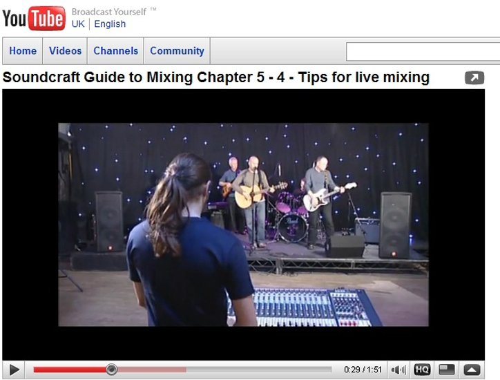 Soundcraft's mixing guide is now available online.