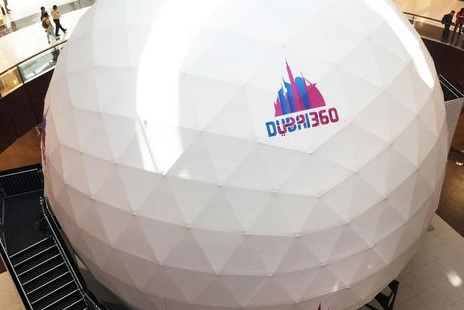 The Sphere at Dubai Mall.