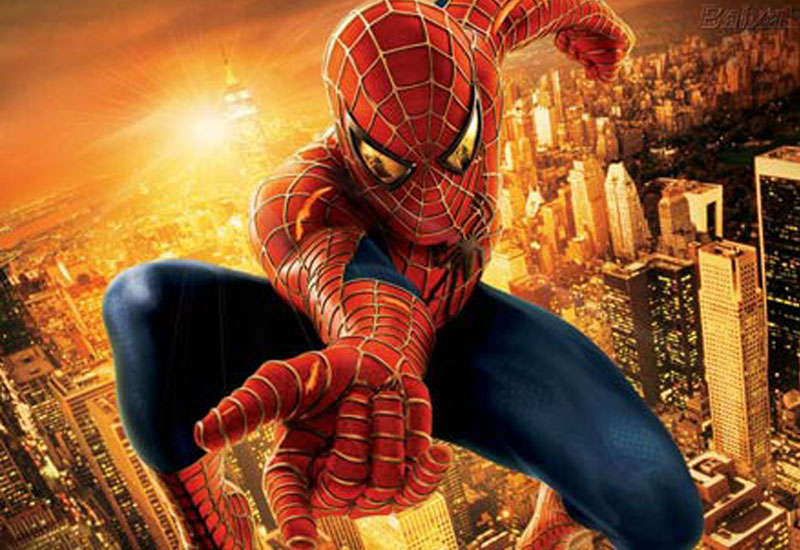 Spiderman's theatre adaptation was sticker that the hero's ubiquitous web.