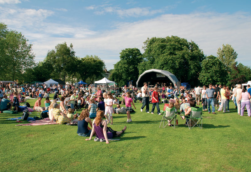 Clear skies have meant ideal conditions for companies setting-up and tearing-down festivals across the UK over summer.