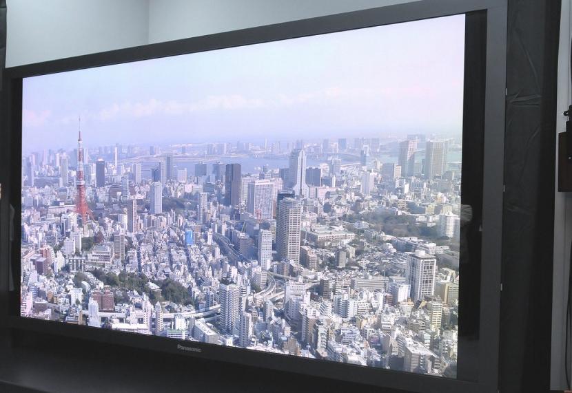 Super hi-vision will allow larger TV screens