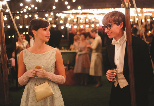 The Theory of Everything opens in the US today.