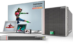 At the heart of a demo at the Dolby ATSC 3.0 showcase in Atlanta is Thomson Video Networks' ViBE VS7000 multi-screen encoding/transcoding platform and