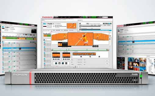 Thomson Video Networks launches FUZE-1, Delivery & Transmission