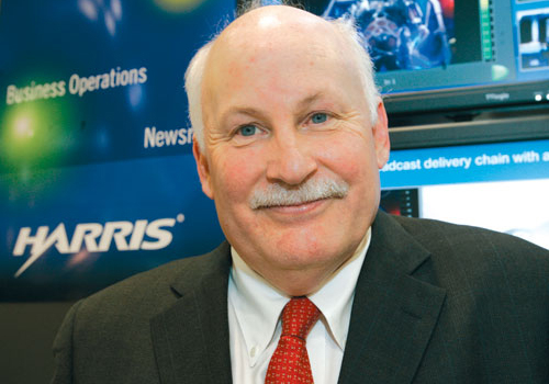 Tim Thorsteinson, president of Harris Broadcast.