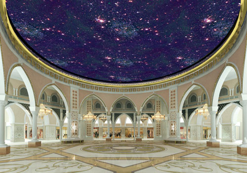 The Dubai Mall will feature the world's largest indoor Gold Souq.