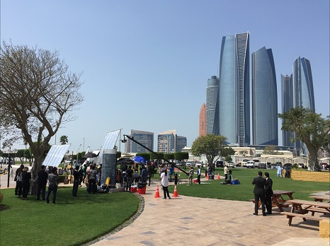Abu Dhabi is gaining popularity to be the leading media and entertainment hub in the region.