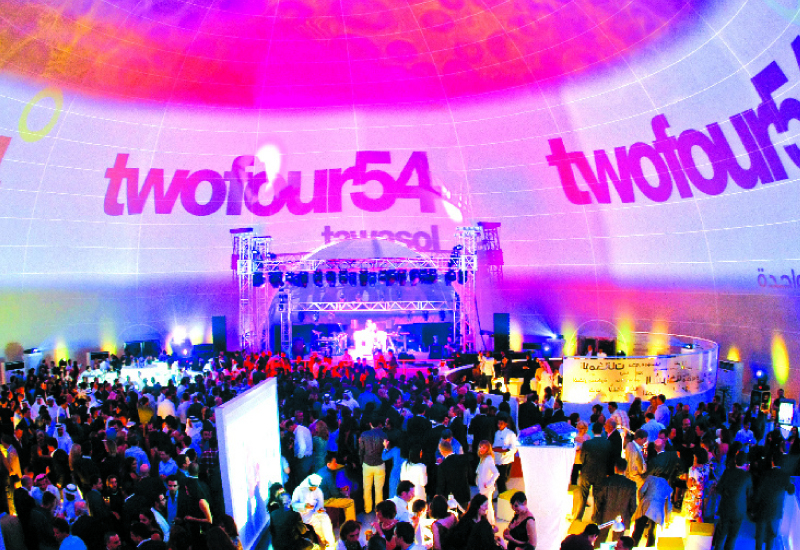 twofour54 is the headline sponsor of the MEBS and METV events.