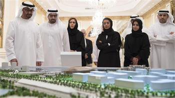 His Highness Sheikh Mohamed bin Zayed Al Nahyan unveiled Miral's master plan.