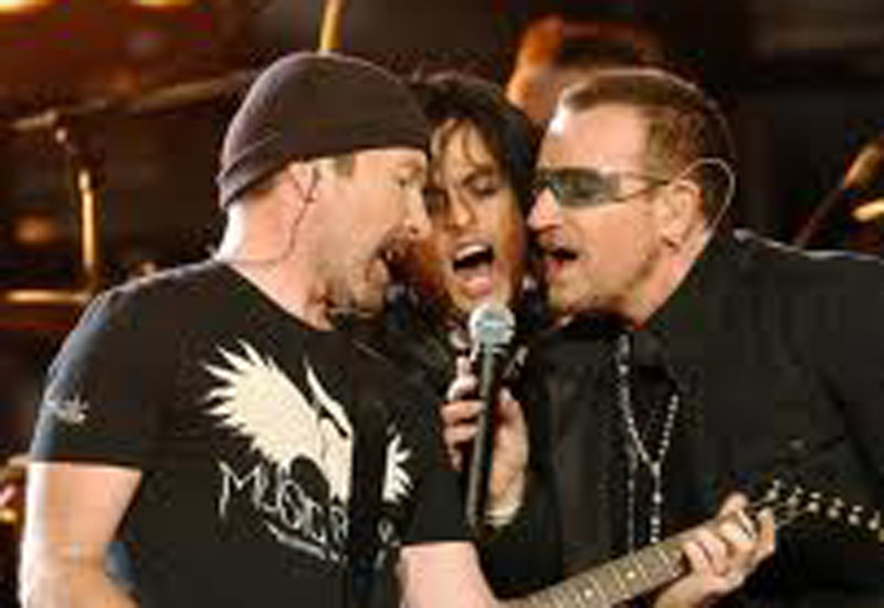 U2's 360 tour has just played a gig in Moscow.