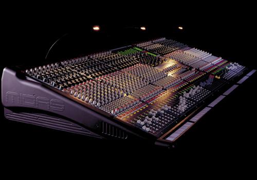 Midas Verona mixing console.