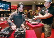 The Pioneer launch was staged at MoE's Virgin Megastore.