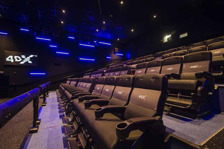 The new cinema complex opened in Yas mall.