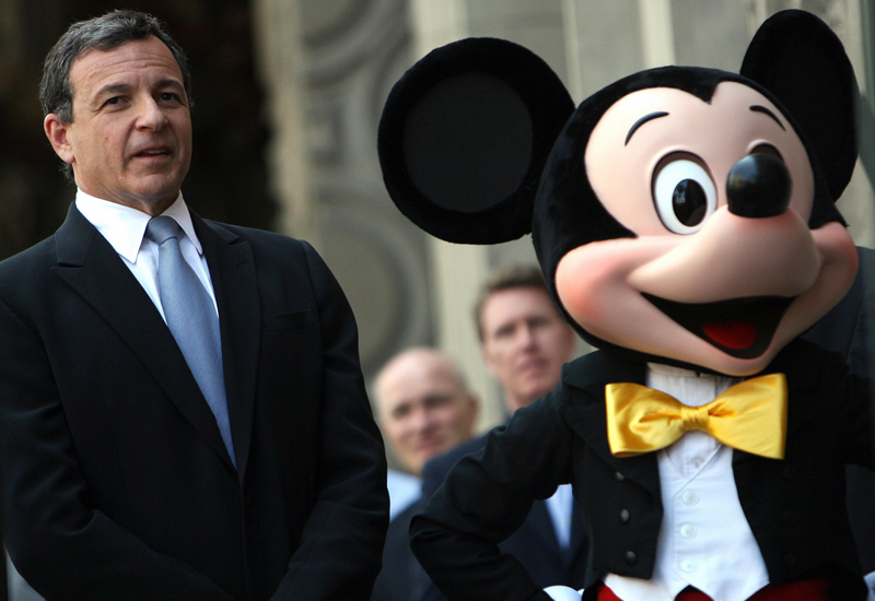 Bob Iger President and CEO of The Walt Disney Company