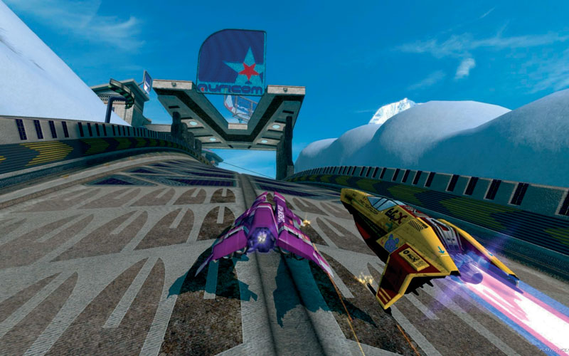WipEout HD was one of the first batch of 3D games released for Playstation 3.